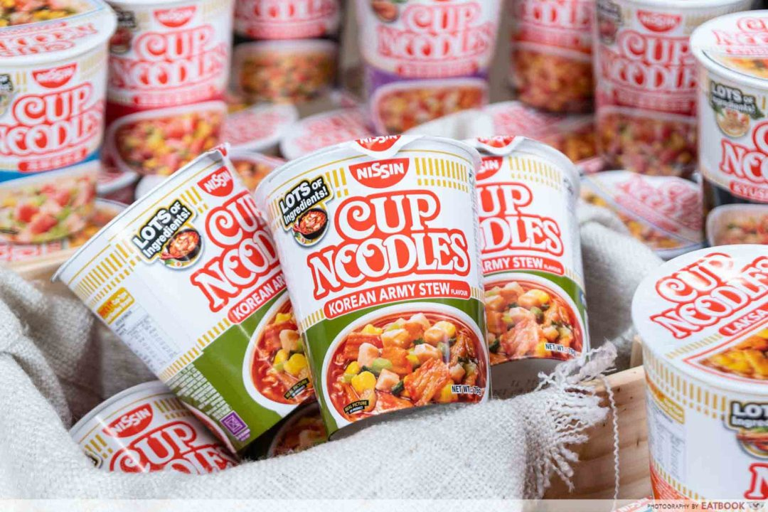 Nissin Korean Army Stew Noodles - Establishment Shot