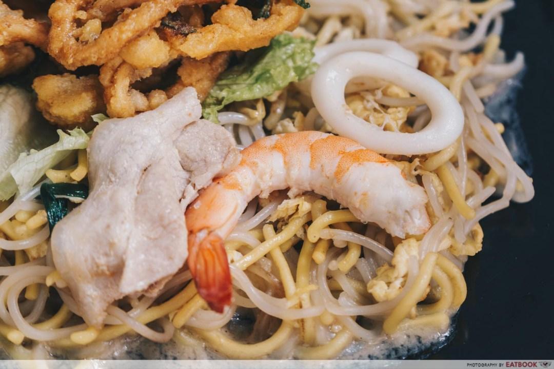 mian wang 1971 salted egg calamari hokkien mee ingredients