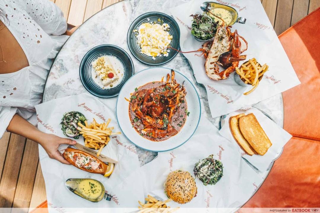 12 New Restaurants June - Burger & Lobster sambal Glazed Lobster