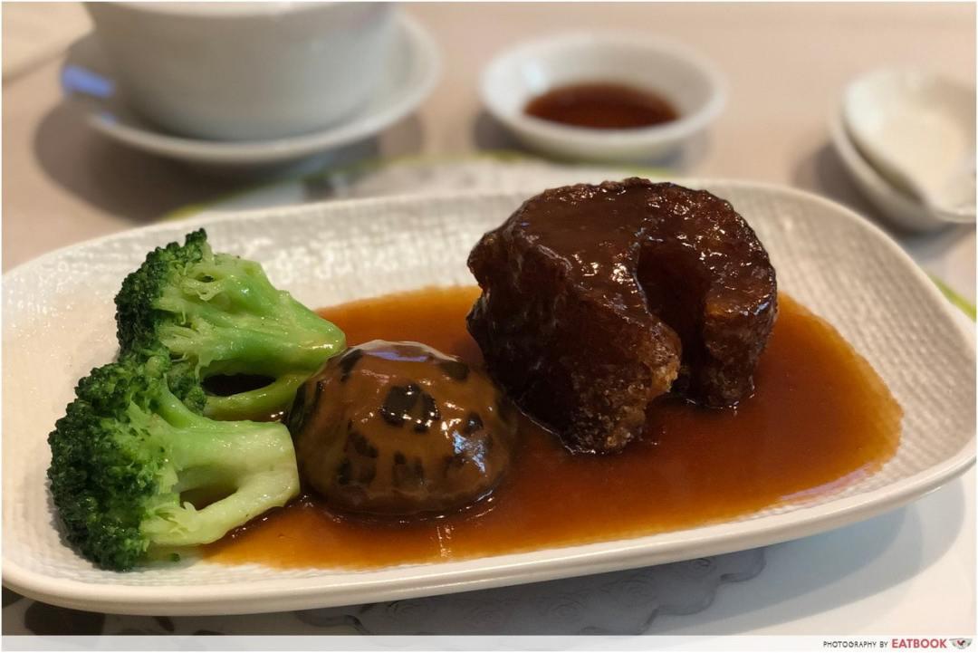 12 New Restaurants June - Zui Yu Xuan crispy fried sea cucumber