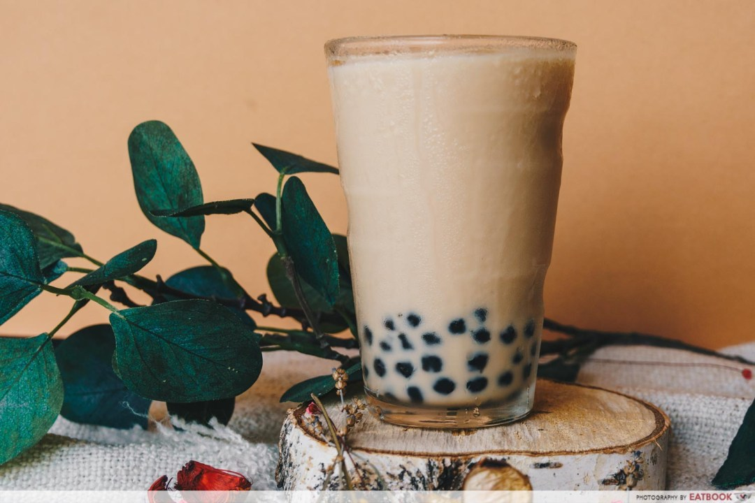 Oolong Milk Tea with Pearls