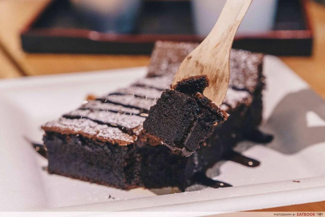 OCD Cafe - Gateau Au Chocolat Interaction Shot