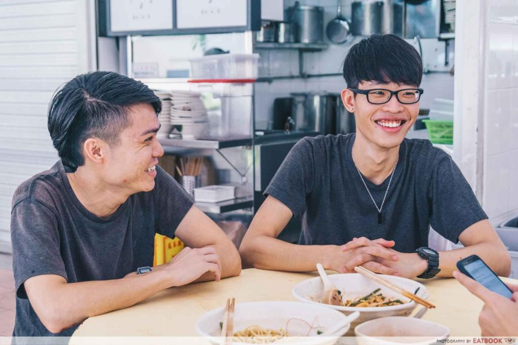 Prawn & Mee young owners