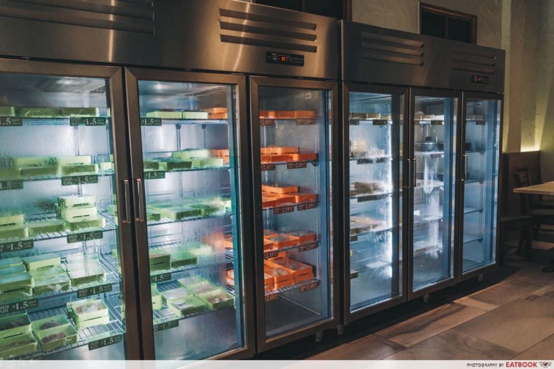 Sedap Mania - fridge with food