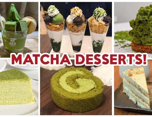 matcha desserts cover