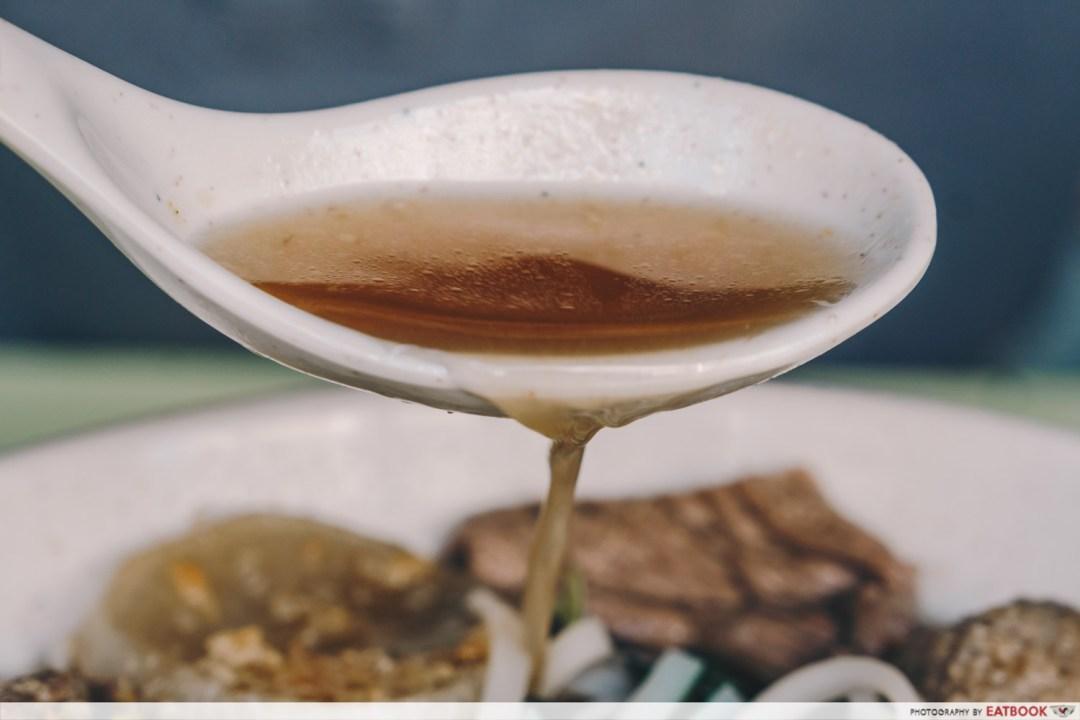 omar's halal thai beef noodles soup