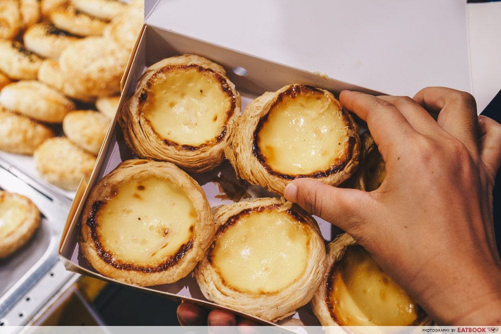street food festival madeleine's original portuguese egg tarts
