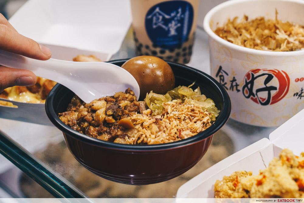street food festival paradise gastronomy braised pork rice