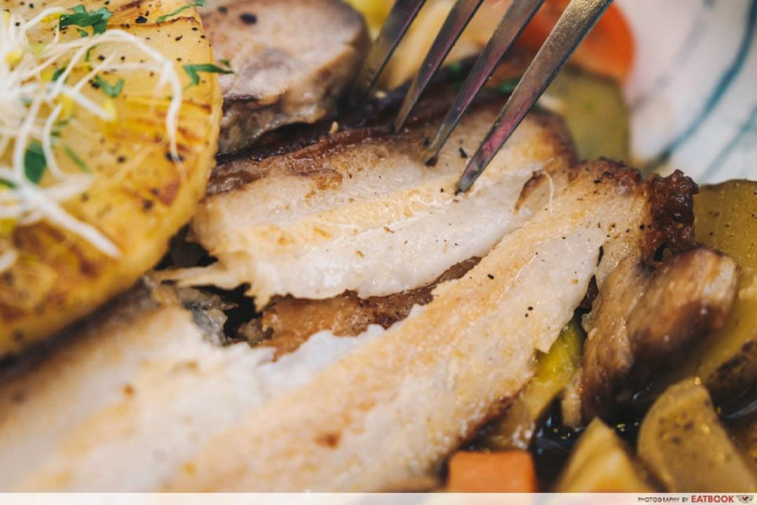 Hunger's Kitchen - cut pork belly