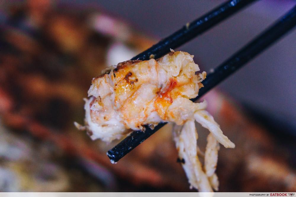 haven bistro mr lobster combo lobster meat