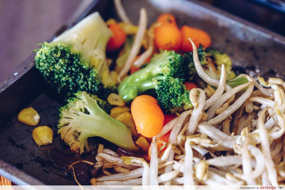 haven bistro vegetables