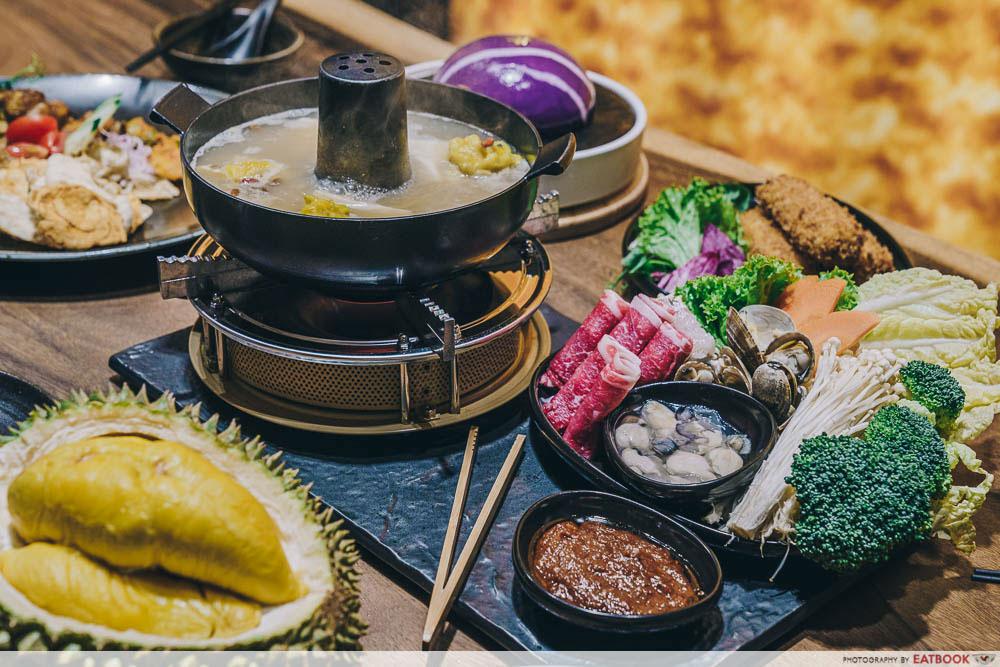 jewel supper food four seasons durian restaurant