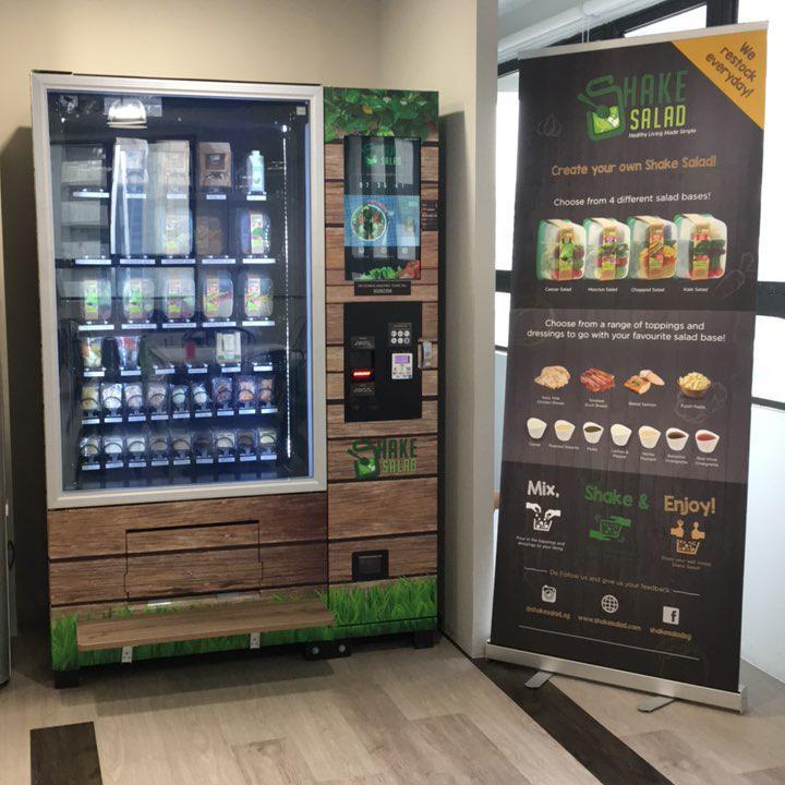 vending machines salad