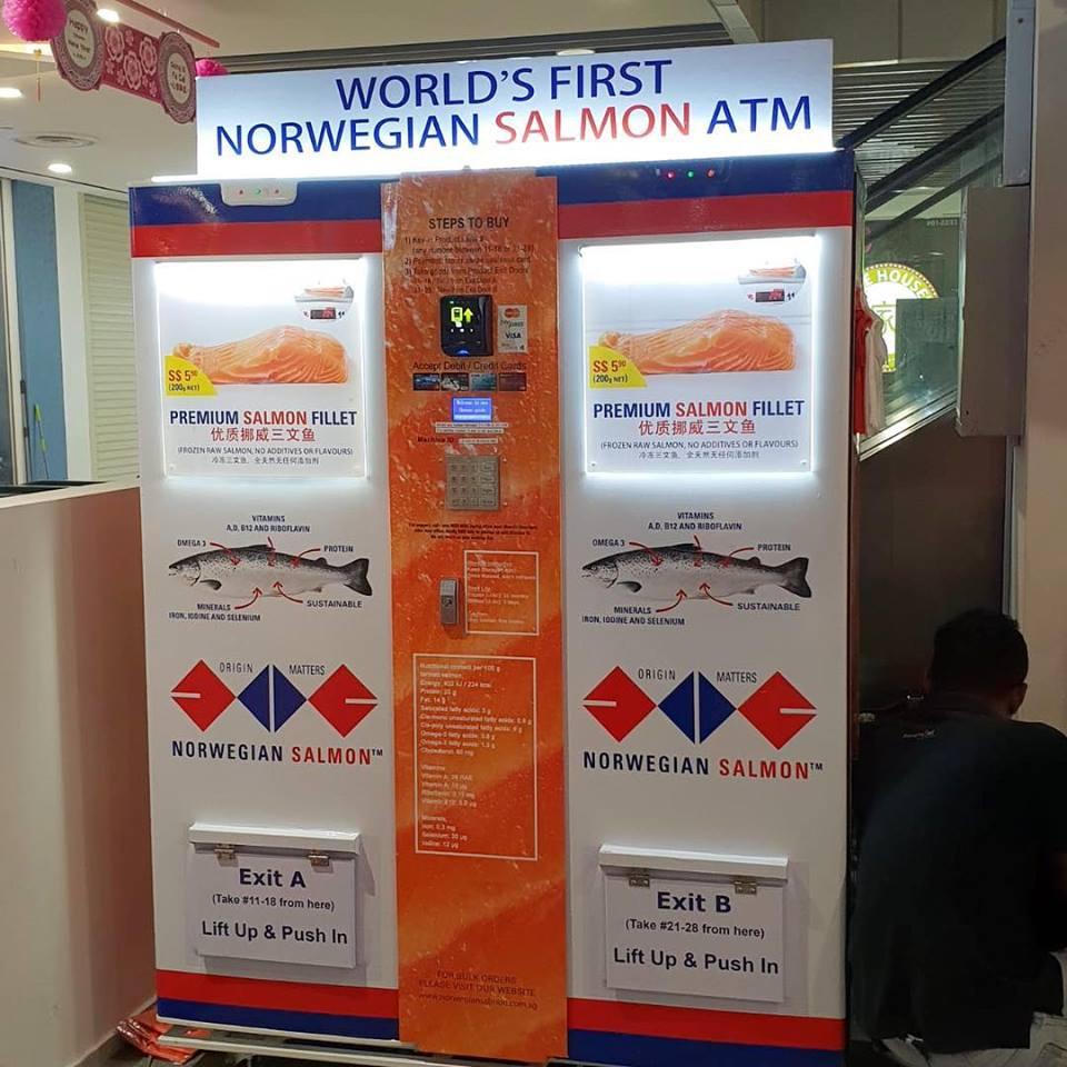 vending machines salmon