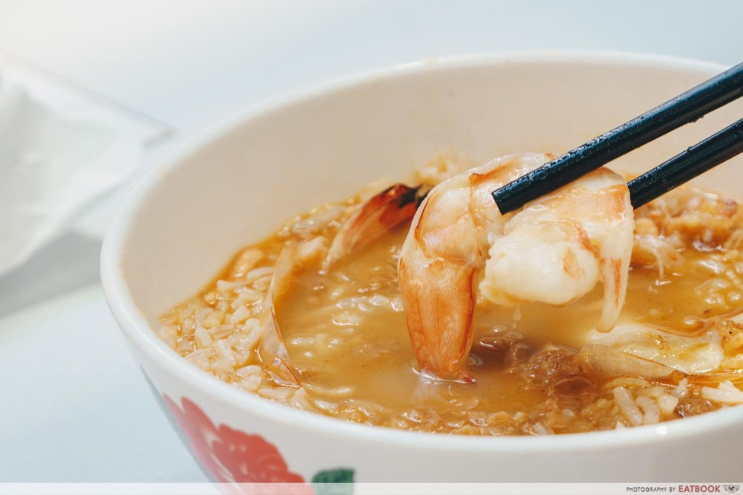 Chao Ting - King Prawn Closeup