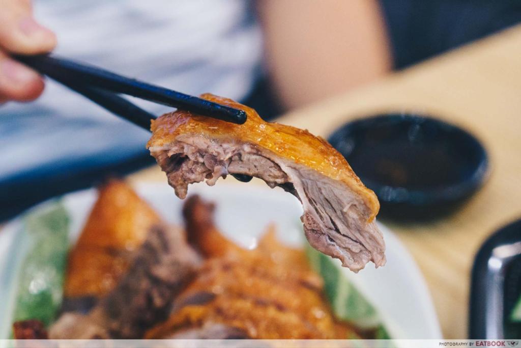 Eat3Cuts pipa duck meat