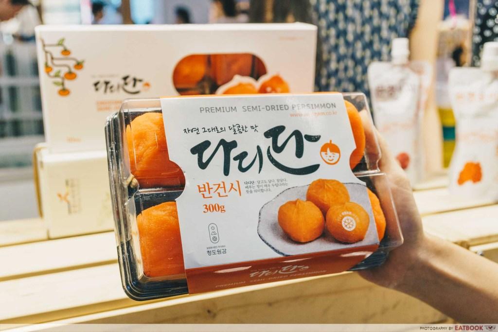 box of persimmon