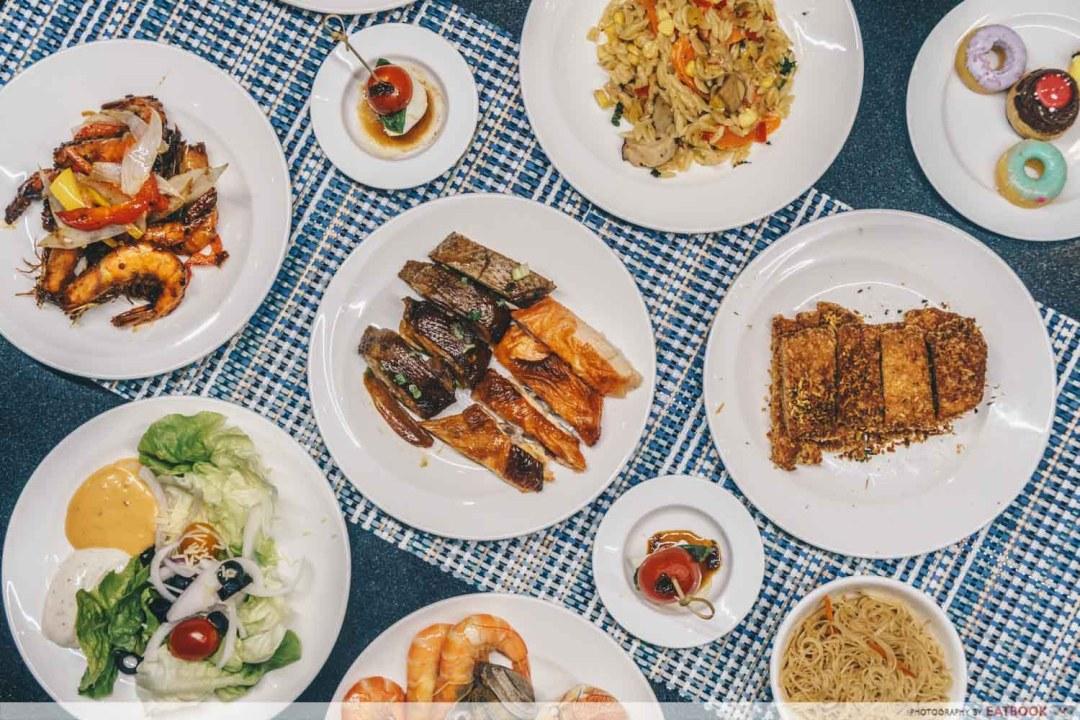 Food at Azur
