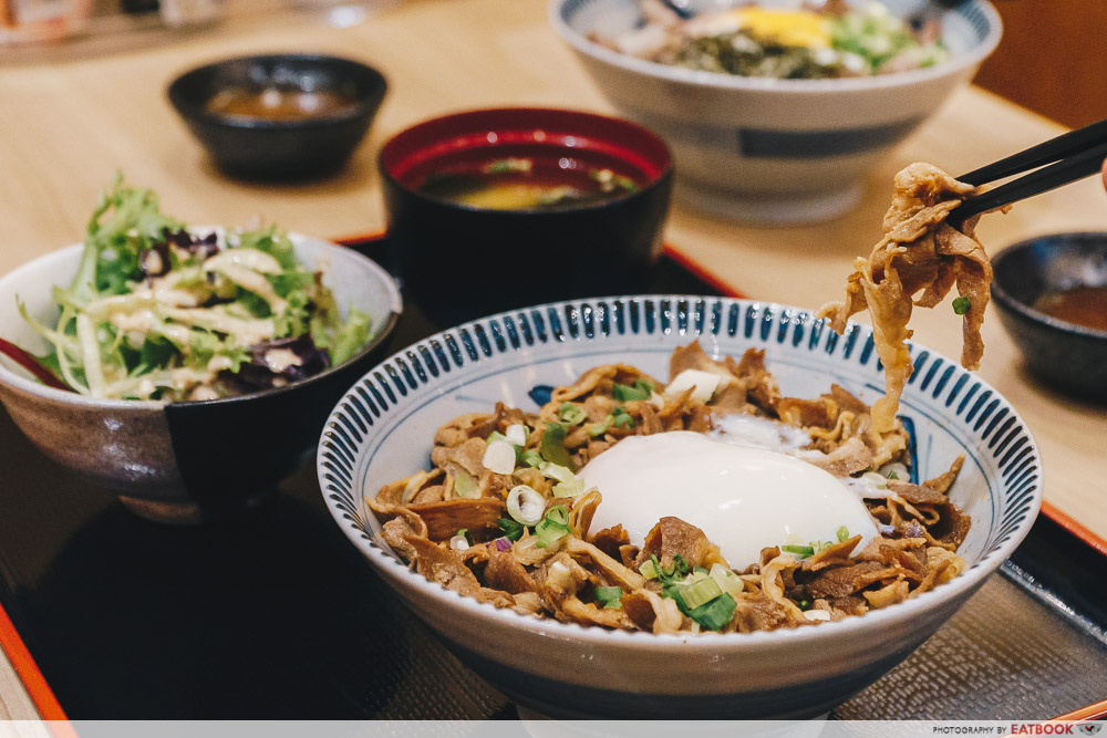 lunch deals in the West Gochi so Shokudo Lunch