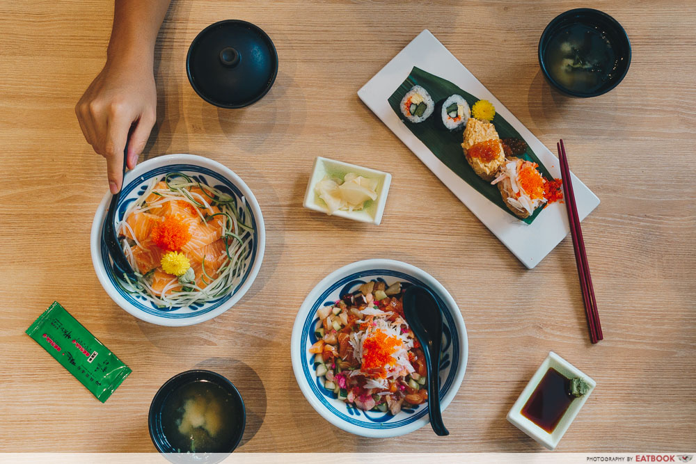 lunch deals in the West Itacho Sushi Star Vista