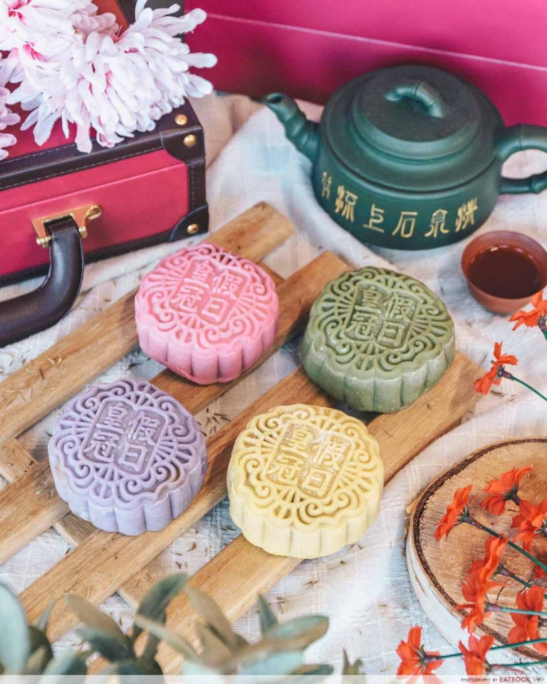 Mooncakes - Tea-infused