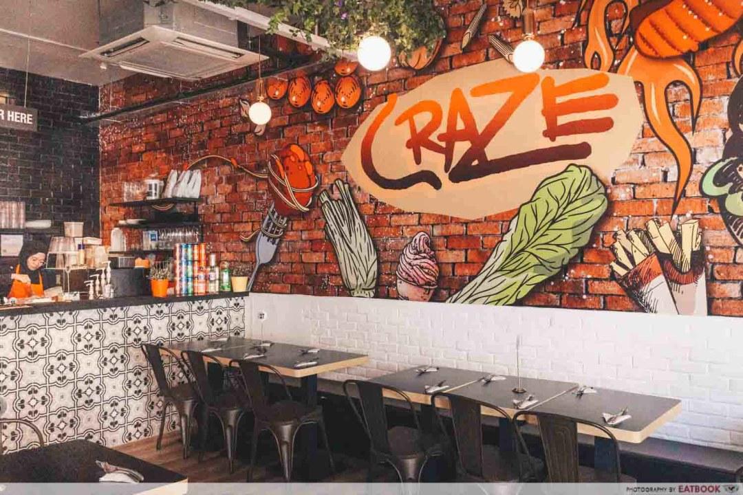 Craze Kitchen - Ambience