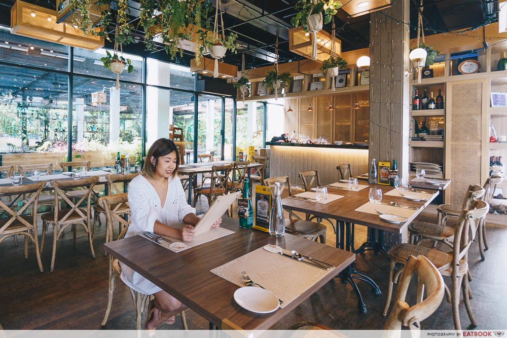 Maybank Meat Restaurants Vineyard at HortPark