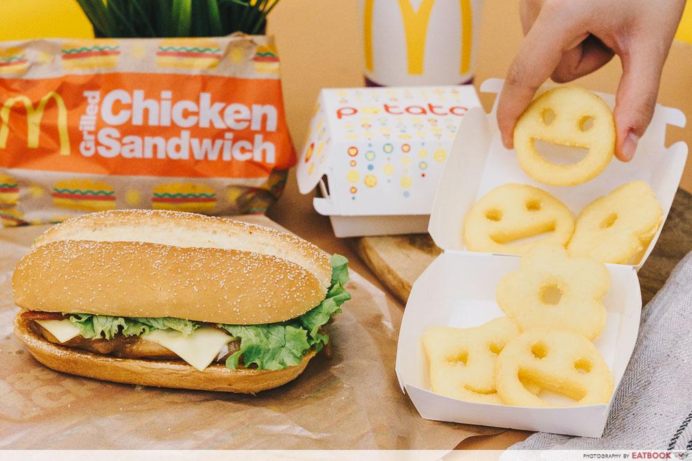 McDonald's Grilled Chicken Set