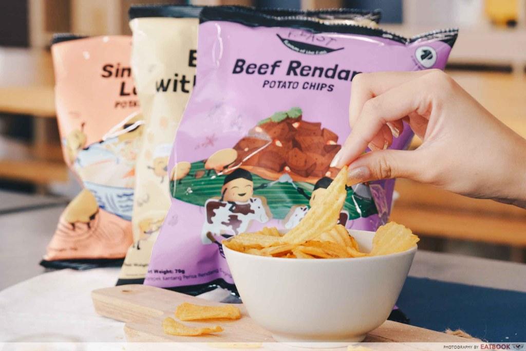 beef rendang chips