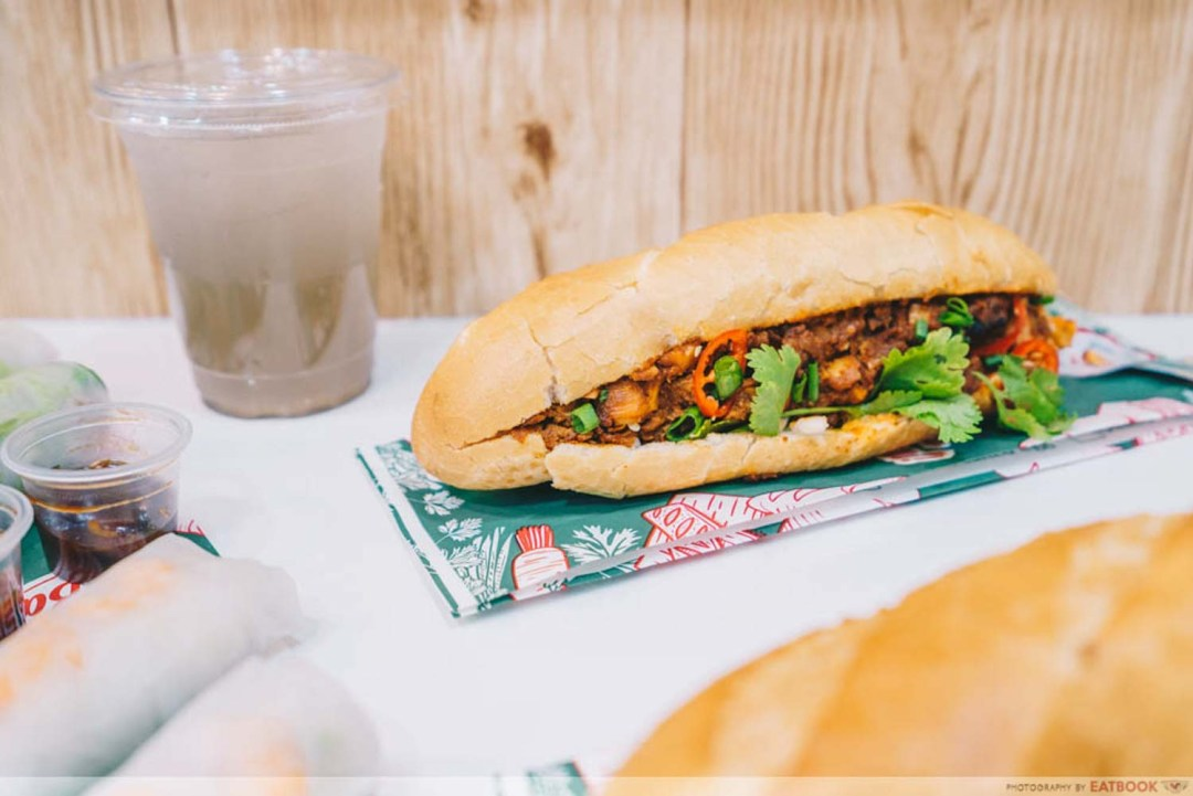 Banh You, Banh Mi - Butter chicken banh mi
