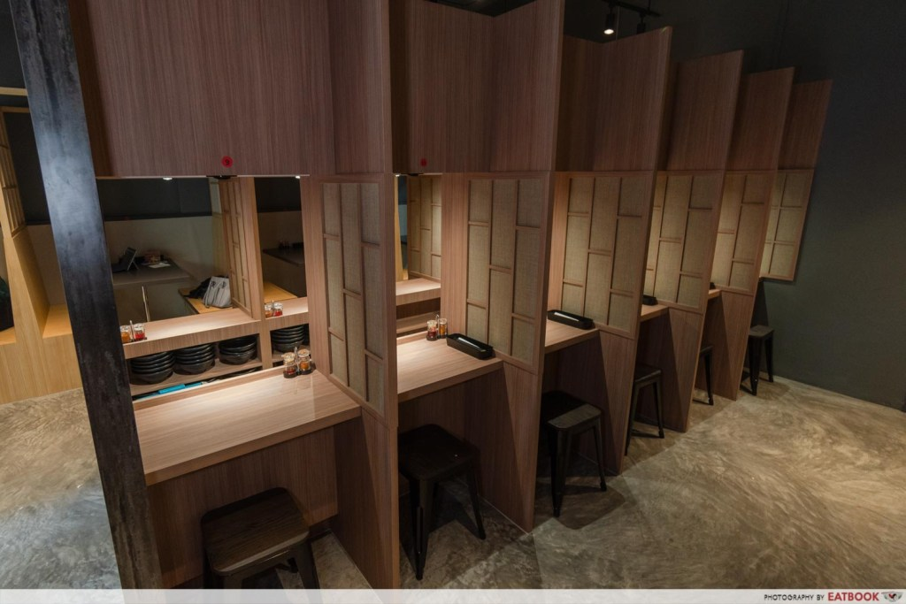 Gangsta Ramen Private Dining Booths