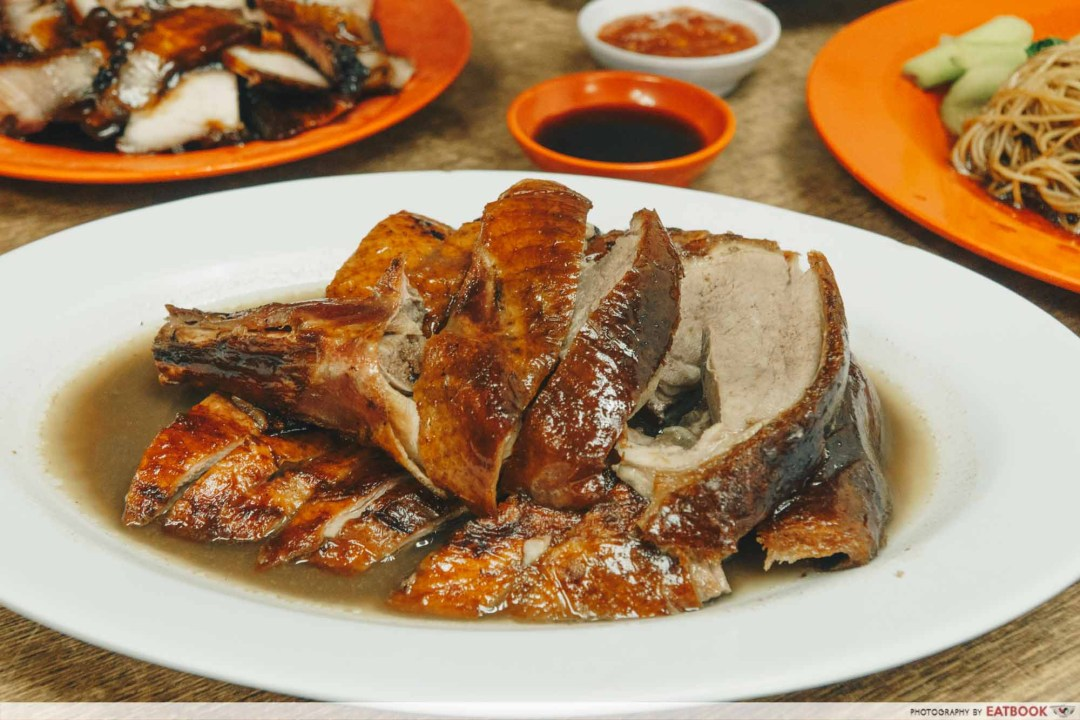 Johor Bahru Hawker Food - Herbal Roast Duck