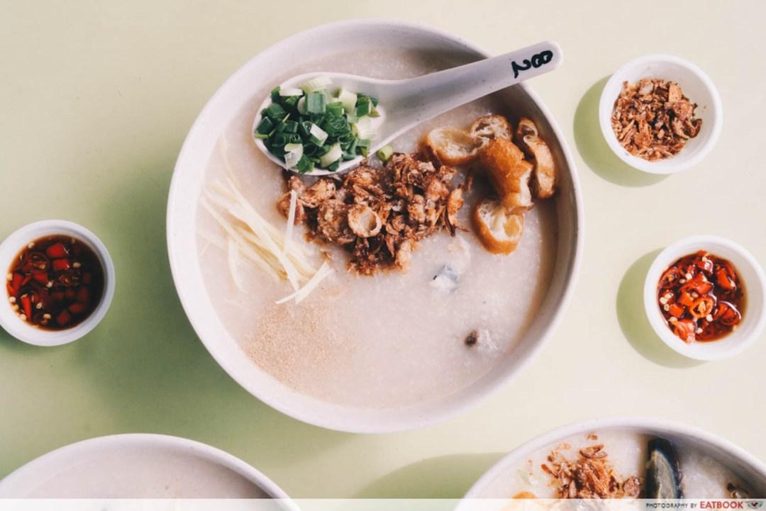 Weng Kiang Kee Porridge - Premium Porridge