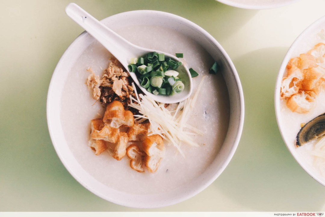 Weng Kiang Kee Porridge - Sliced Fish Porridge
