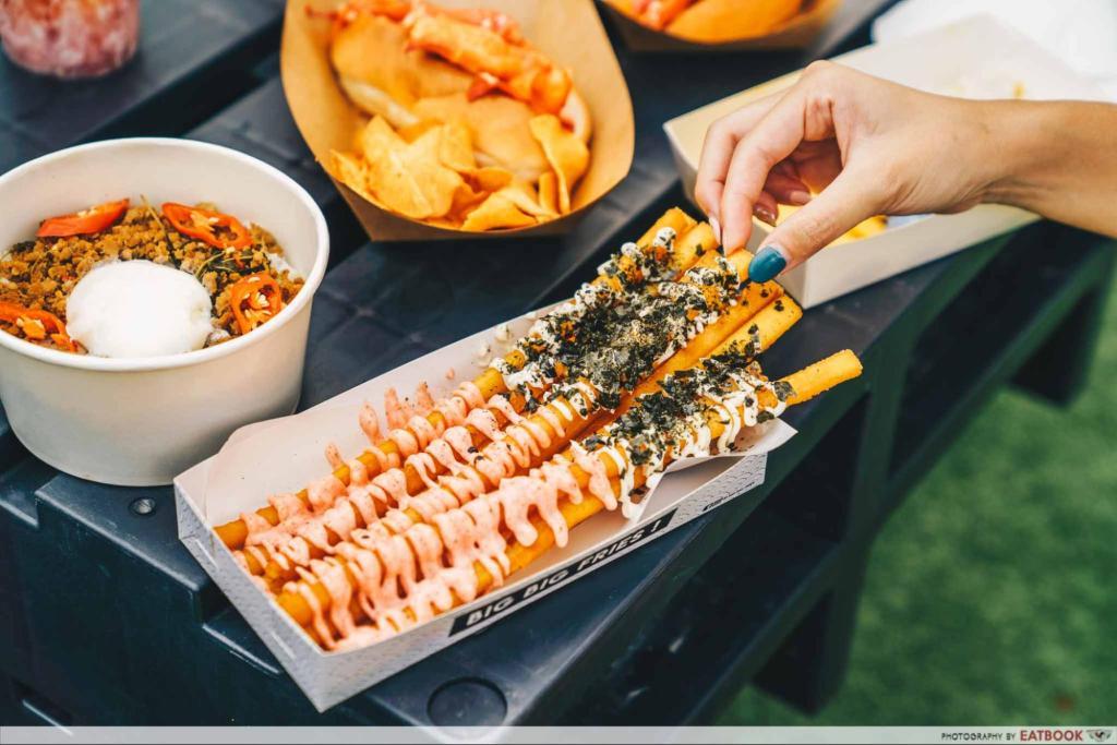 Artbox Singapore 2019 Big Big Fries Mentaiko