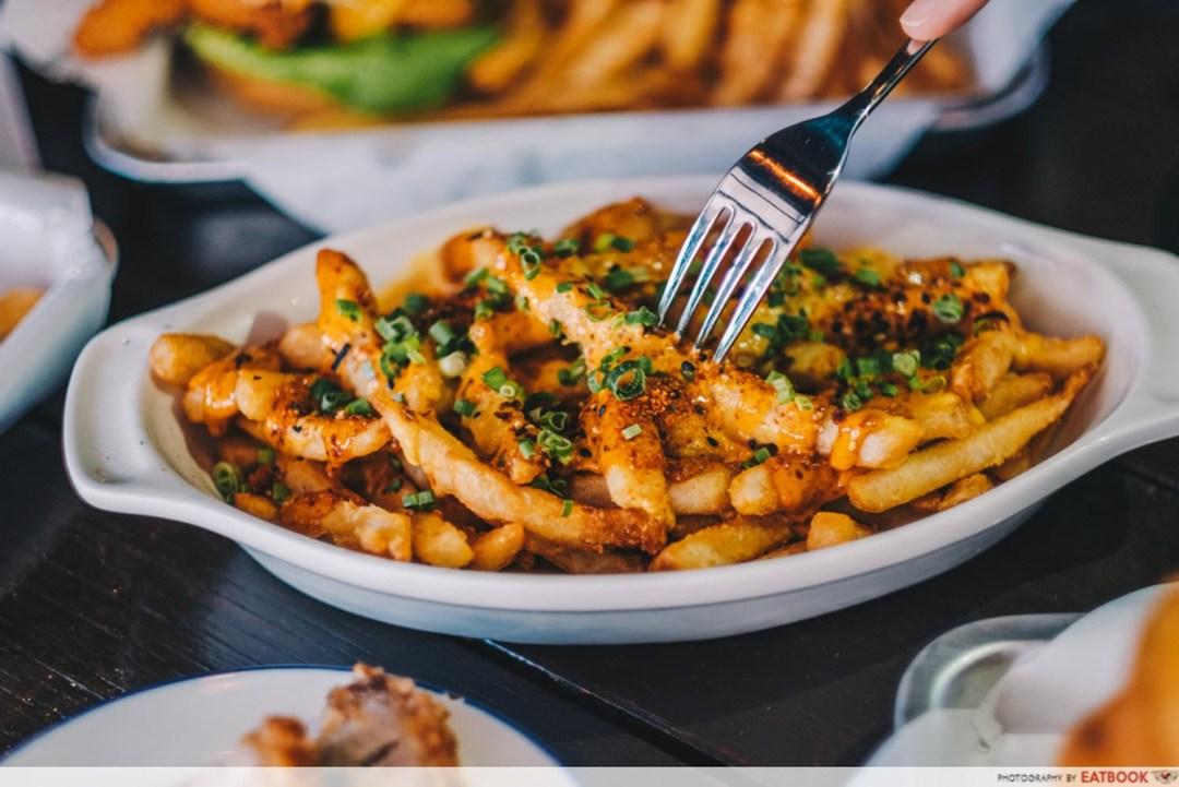 Mischief - Siracha loaded fries