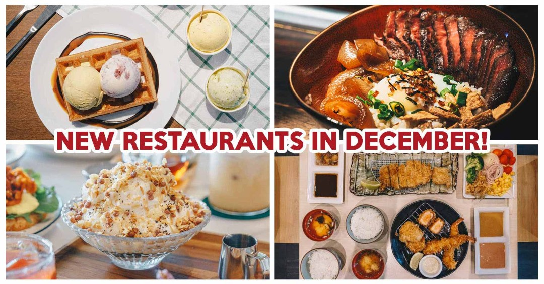 New Restaurants December - Featured image