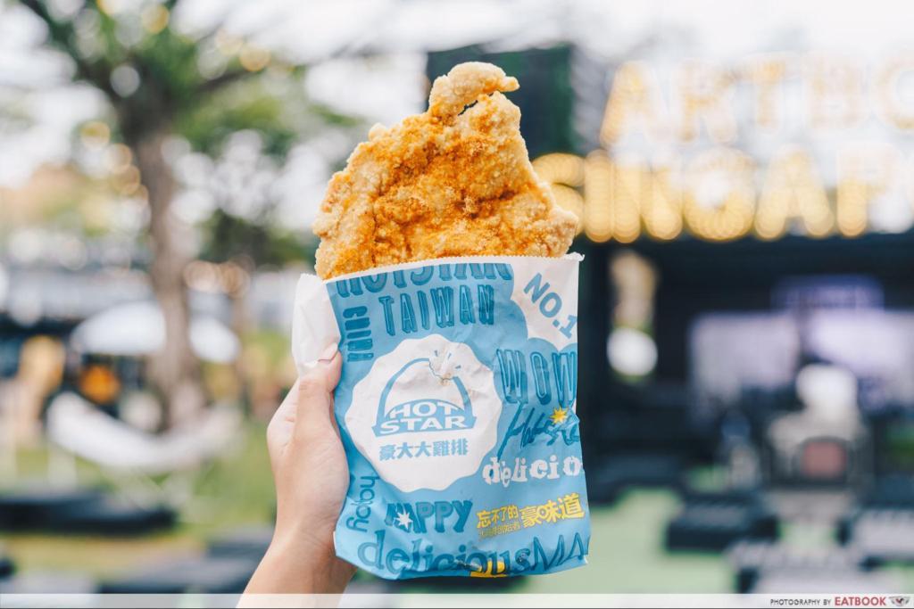 artbox singapore 2019 Hot Star Chicken