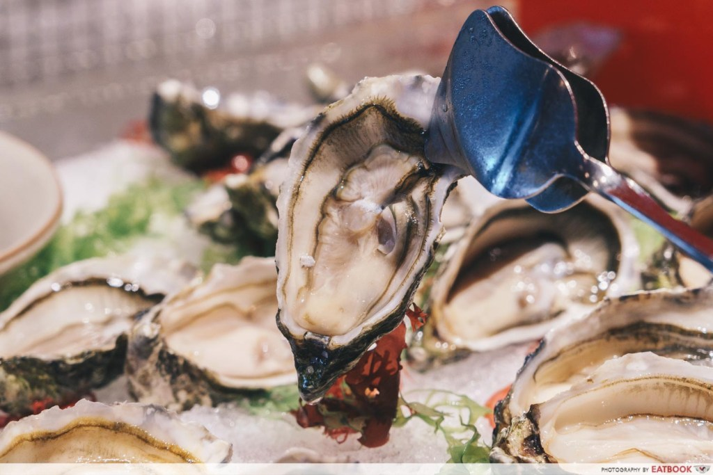 Edge Pan Pacific Oysters)