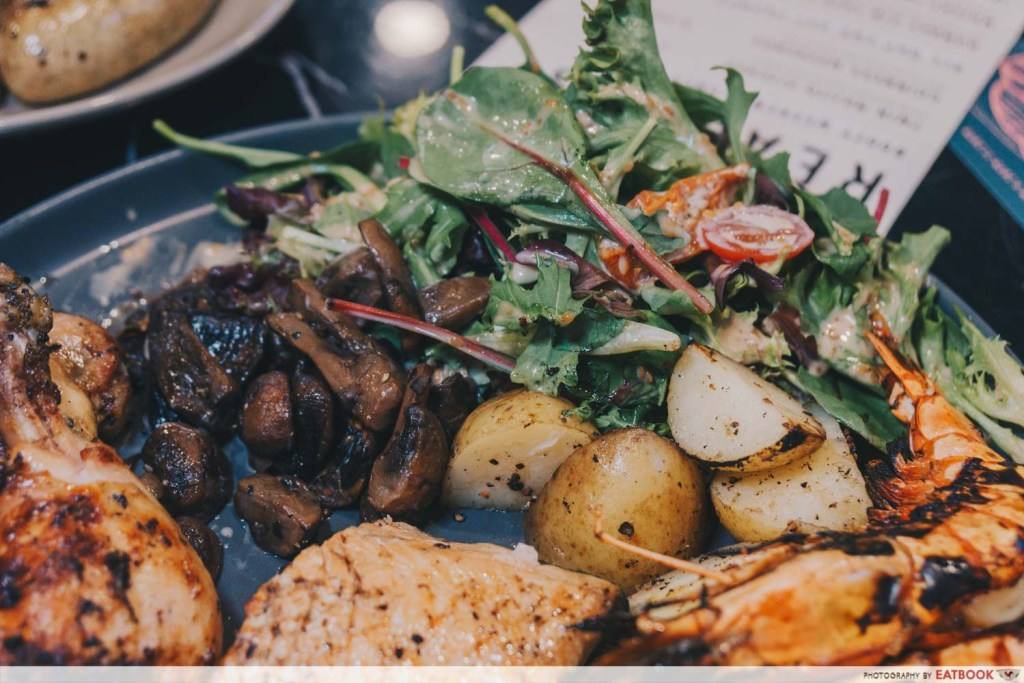 Homeground Grill And Bar Salad