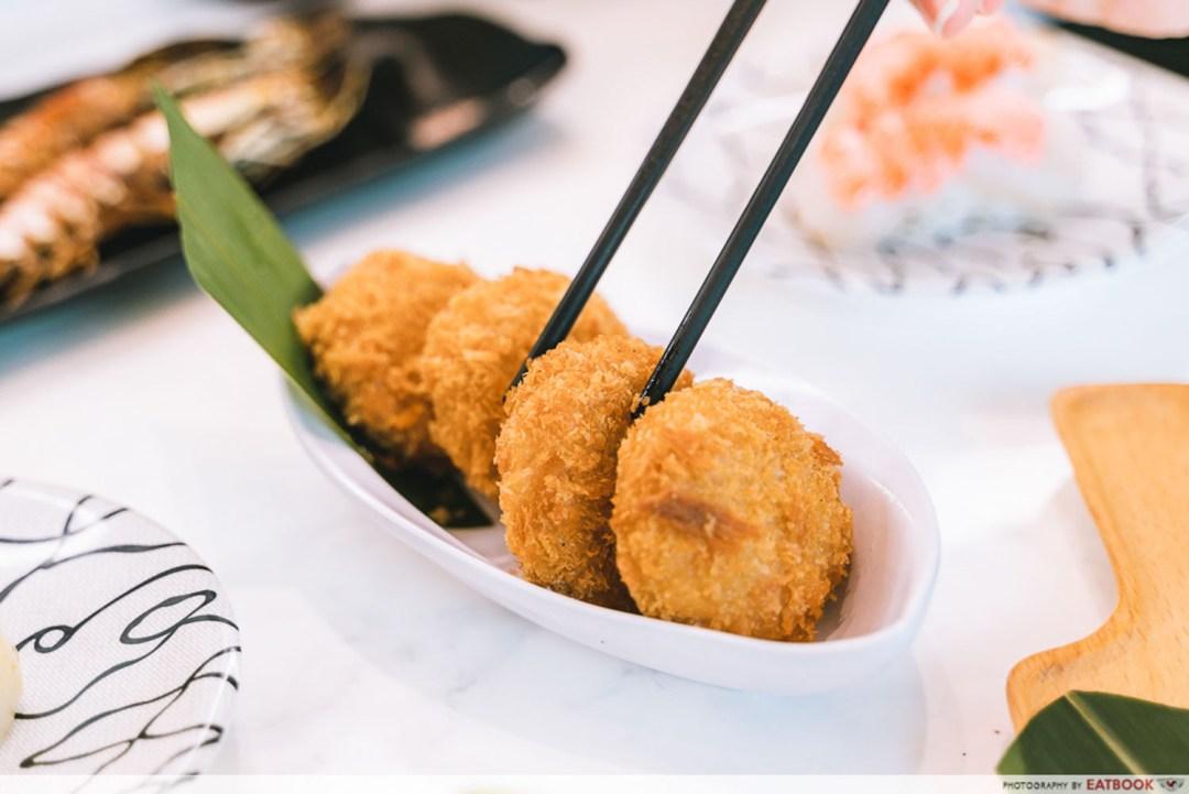 Sushi Plus - Sea Urchin Cream Croquette