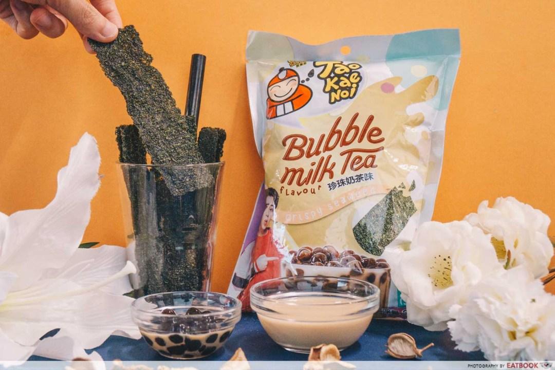 bubble tea seaweed