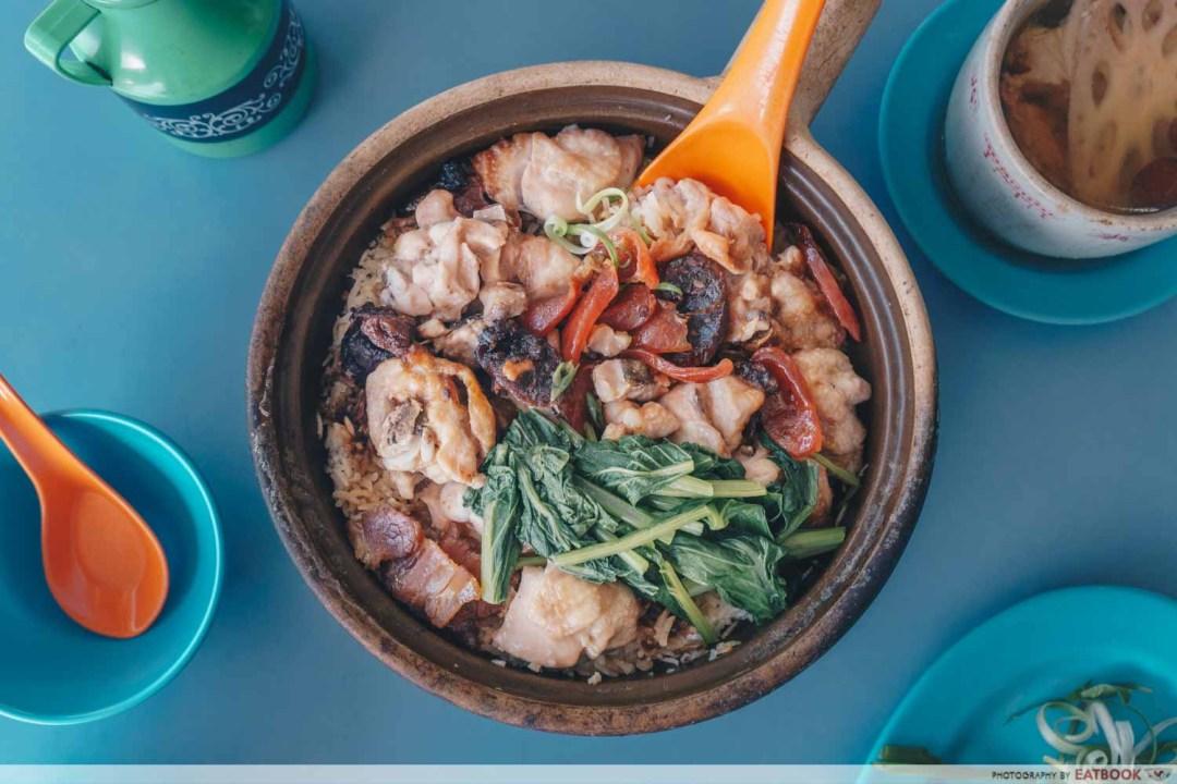 Assorted Claypot Rice