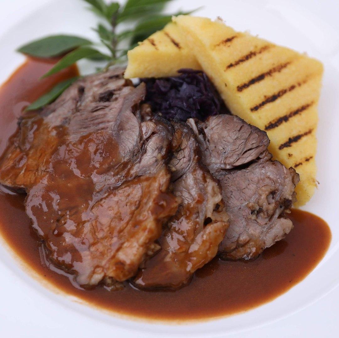 Flat Iron Steak Huber's Bistro