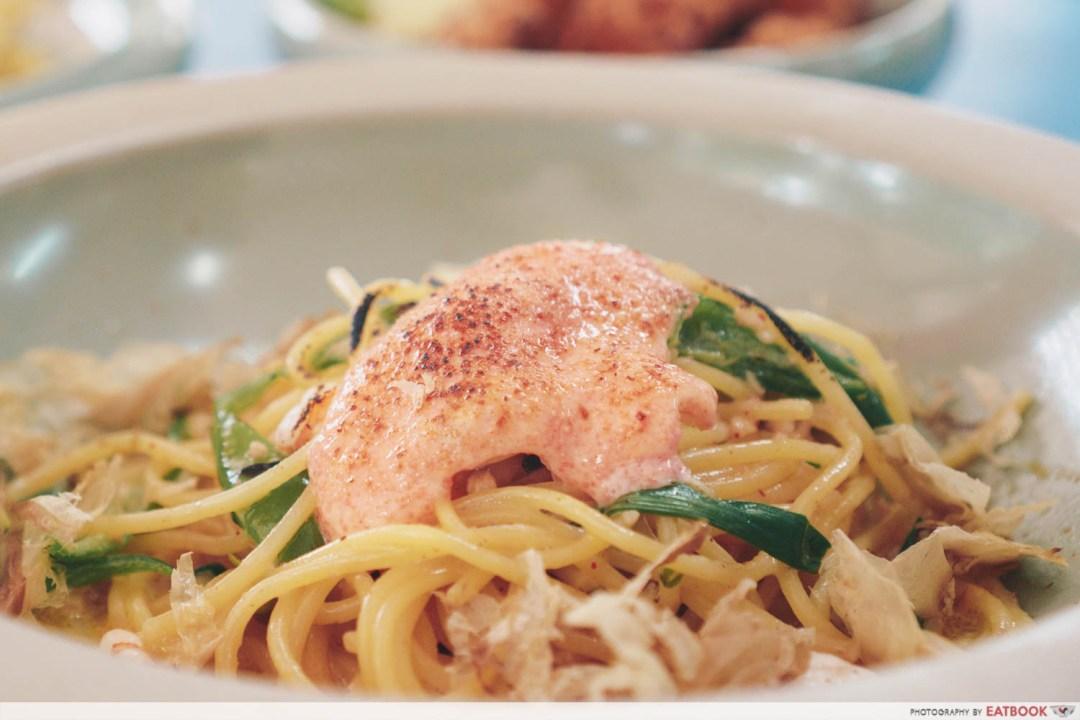 Spicy Mentaiko Spaghetti