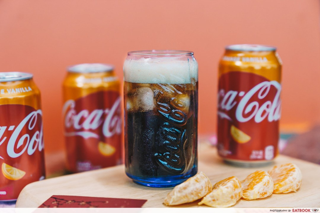 Orange Vanilla Coca Cola - Coke