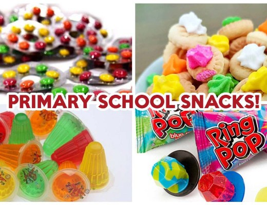 Primary School Snacks - Featured image