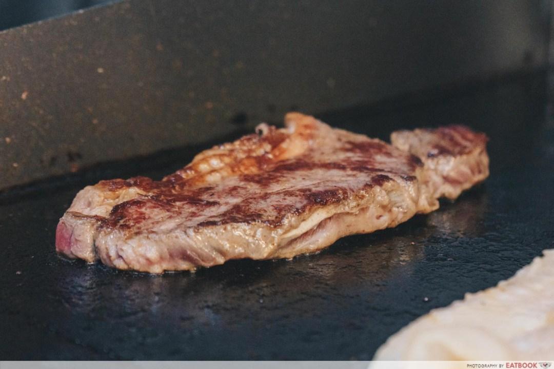 Tip Top Western Food - Steak grilling