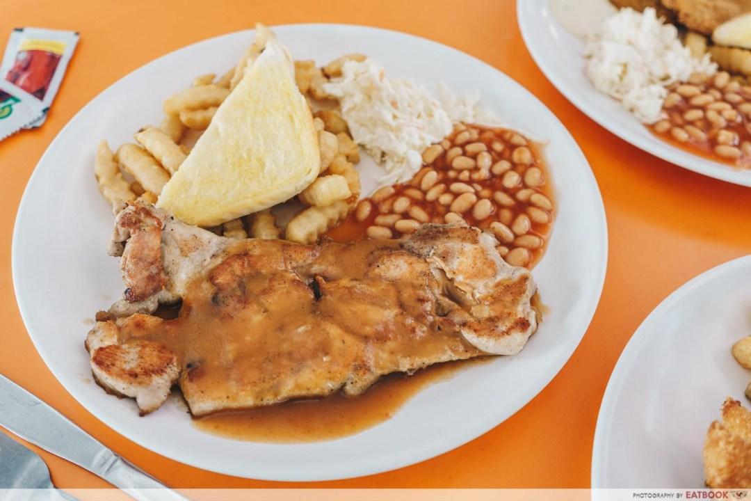 Black Pepper Chicken Chop