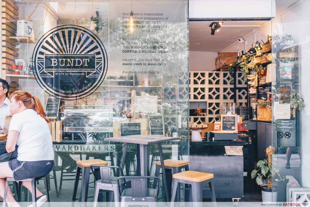 BUNDT by the Backyard Bakers-Storefront shot